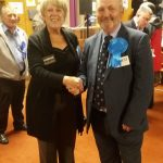 Josie with Leader of Medway Council Alan Jarrett