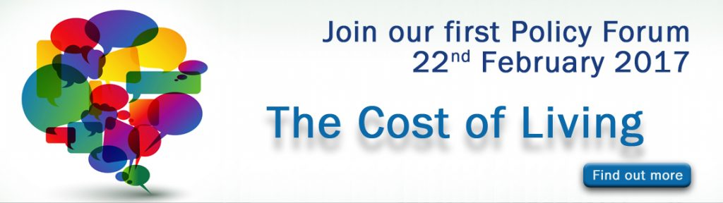 Conservative Policy Forum - Cost of Living